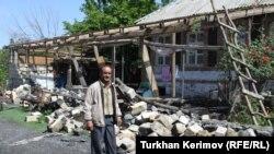 После землетрясения в Загатала. 10 мая 2012