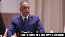 The government said the operation was directed by new Iraqi Prime Minister Mustafa al-Kadhimi.