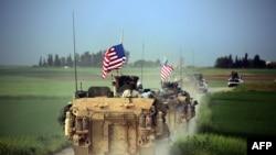 Американские силы в Сирии. Архивное фото.