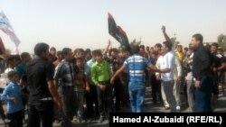 تظاهرة للشبط في الموصل