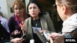 Один из лидеров грузинской оппозиции Саломе Зурабишвили