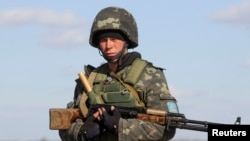 Военнослужащие украинской армии. Иллюстративное фото