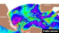 Течение Западных Ветров охватывает Антарктику и смешивает воды трех океанов.