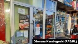 Zatvorene radnje i restorani u Sarajevu zbog pandemije korona virusa