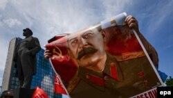 Мітынг ў Данецку 22 чэрвеня 2014 году.