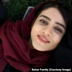 Iranian female football fan Sahar Khodayari who set herself on fire to protest her possible indictment for trying to enter a sports stadium in Iran and died in hospital.