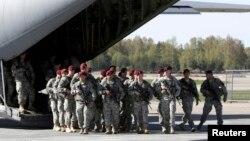Американські військові прибули у Латвію, 24 квітня 2014 року