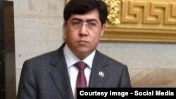جعفر مهدوی عضو کمیسیون روابط بینالمللی ولسی جرگه