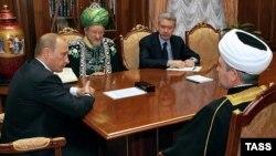 Первые лица российского ислама на приеме у президента Владимира Путина