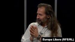 Emilian Galaicu-Păun la dezbaterea în studioul Europei Libere