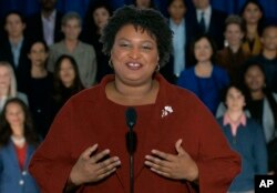 Rising star Stacey Abrams delivered the Democratic Party's response to President Donald Trump's State of the Union address.
