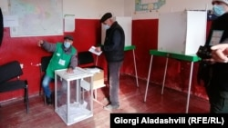 ერთ-ერთი საარჩევნო უბანი ლაგოდეხის მუნიციპალიტეტში