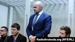 Голова Херсонської обласної ради Владислав Мангер у судовому засіданні, Київ, 12 вересня 2019 року
