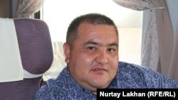 Ерсин Сабырханов, заместитель директора пассажирской компании «Туран-экспресс».