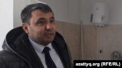 Бекзат Кубаев, главный врач второй Теректинской райбольницы. Западно-Казахстанская область, 11 марта 2020 года.