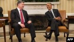 ԱՄՆ - Միացյալ Նահանգների նախագահ Բարաք Օբամայի և Ուկրաինայի նախագահ Պետրո Պորոշենկոյի հանդիպումը Սպիտակ տանը, Վաշինգտոն, 18-ը սեպտեմբերի, 2014թ․