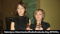 Мирослава Которович і Катерина Бойчук. Органний зал Рівненської обласної філармонії, 24 жовтня 2011 року
