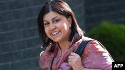 Баронесса Саида Варси, член партии консерваторов, старший государственный министр по иностранным делам. Лондон, 13 мая 2010 года.