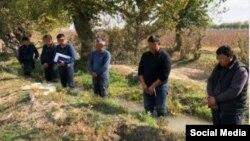 Получившее распространение в Сети фото с «наказанными» за отсутствие полива пшеничных полей.