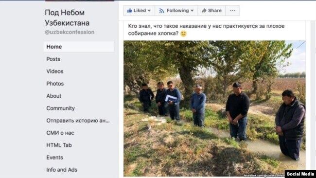 Это фото, распространившееся в узбекском сегменте социальных сетей, вызвало бурю негодования среди пользователей.