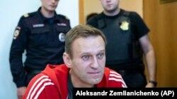 Russian anti-corruption campaigner Aleksei Navalny (file photo)