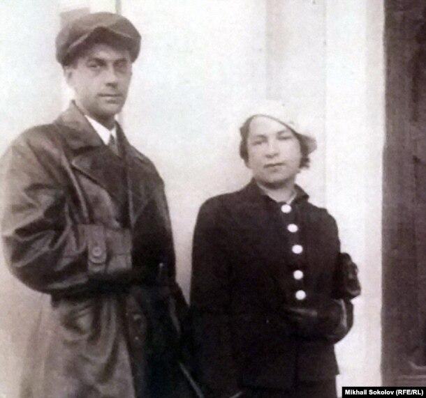 Будущие лауреат Сталинской премии поэт Агния Барто и ее муж Андрей Щегляев, дважды лауреат Сталинской премии, профессор, теплотехник, член-корреспондент АН СССР
