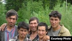 Мешканці центральносибірського села Суломай, які говорять кетською мовою. Фотографія Ольги Казакевич