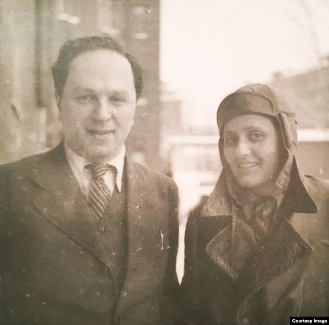 Александр Вайсберг и Ева Штрикер, Харьков, 1934 год