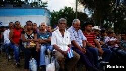 Кубанын айыл тургундары. 2018-жылы 29-мартта тартылган сүрөт.