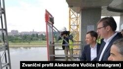 "Vučić u obilasku ""Beograda na vodi"", 15. jun 2020."