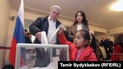 Орусиянын Бишкектеги элчилиги. 18-март, 2018-жыл.