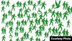 عکسی از انیمیشن مردم سبز