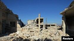 Selo Kafr Jales severno od Idliba
