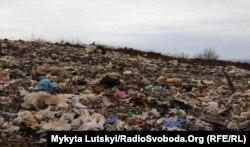 Славянск. Городской полигон для отходов закрыли еще в 2017 году