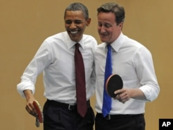 Barack Obama və David Cameron