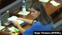 Albulena Haxhiu, deputete e Vetëvendosjes