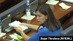 Ministarka pravde Kosova Aljbuljena Hadžiu