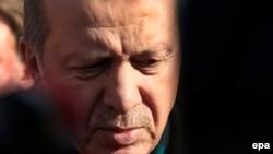 Թուրքիայի նախագահ Ռեջեփ Էրդողանը: