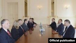 Konqresmenlərlə görüş (Foto: President.az)