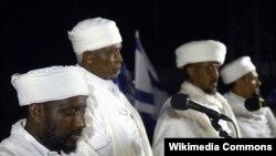 مراسمی از یهودیان اتیوپیتبار در اسرائیل