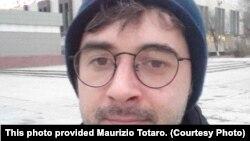 Итальянский ученый Маурицио Тотаро, который занимается исследованием Мангистауского региона.