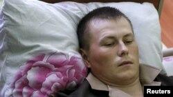 Александр Александров Луганскда яраланган пайтида қўлга олинган.