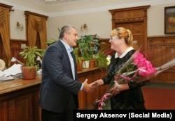 Сергей Аксенов и Ирина Кивико