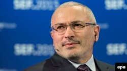 Mikhail Khodorkovsky was once Russia's richest man but is now living in exile after spending a decade in jail on what he and his supporters say were charges fabricated because of the political threat he posed to Putin.
