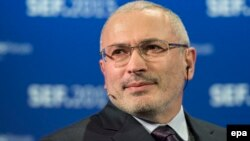 Засновник руху «Відкрита Росія» Михайло Ходорковський