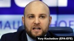 "Депутат от правопопулистской партии ""АФД"" Маркус Фронмайер"