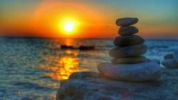 Закат солнца на Южном берегу Крыма. Иллюстрационное фото