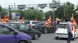 Macedonia Antigovernment Activists Turn To Blocking Roads