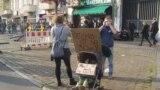 Demonstranţi contra rasismului, 1 mai, la Berlin