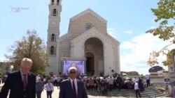 """Shugurohet Katedralja """"Nëna Terezë"""" në Prishtinë"""
